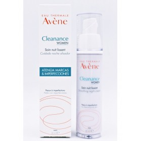 Avene Cleanance Women Cuidado Noche Alisador 30 ml