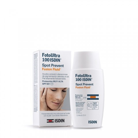 fotoprotector fotoultra 100 isdin spot prevent fusion fluid 50 ml