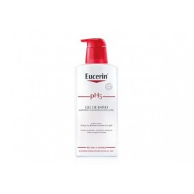 gel de baño eucerin piel sensible pH 5 400 ml
