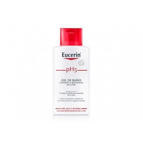 gel de baño Eucerin piel sensible pH 5 200 ml