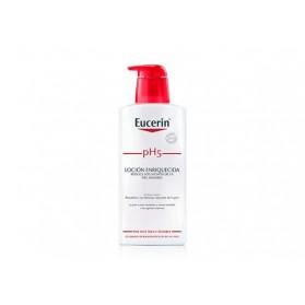 locion enriquecida eucerin piel sensible ph 5 400 ml