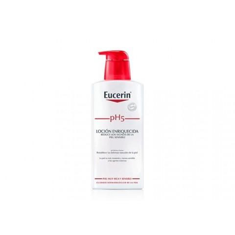 loción eucerin piel sensible pH 5 400 ml