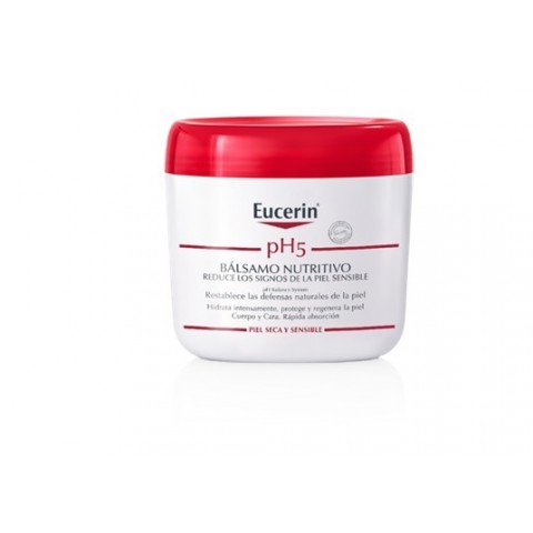 Eucerin piel sensible pH 5 bálsamo nutritivo 450 ml