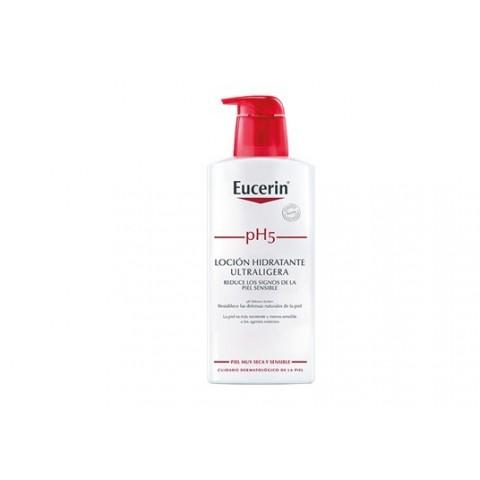 Eucerin piel sensible pH 5 loción hidratante ultraligera 400 ml