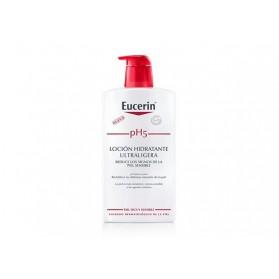 Eucerin piel sensible pH 5 loción hidratante ultraligera 1L