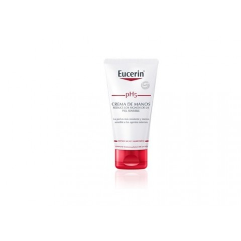 Eucerin piel sensible pH 5 crema de manos 75 ml