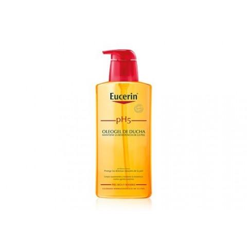 Eucerin piel sensible pH 5 oleogel de ducha 400 ml