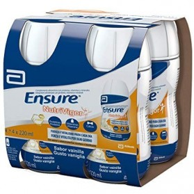 Ensure Nutrivigor 4 botellas 220 ml vainilla