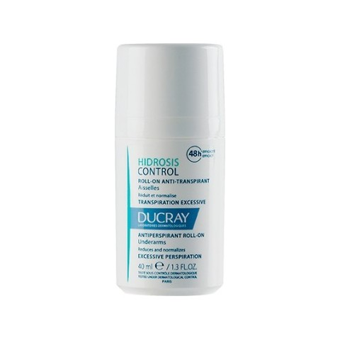 Ducray hidrosis control anti-transpirable roll-on 40 ml
