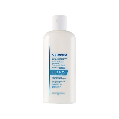 Squanorm champú tratante anticaspa caspa seca Ducray 200 ml