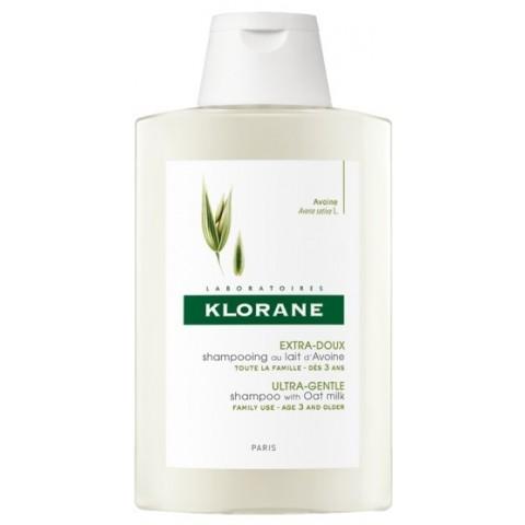 Klorane champú extra suave a la leche de avena 400 ml