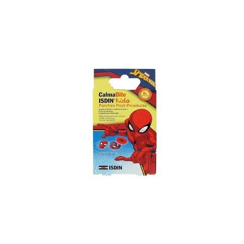 calmabite isdin kids parches post picaduras spiderman