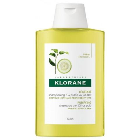 Klorane champú a la pulpa de cidra 400 ml