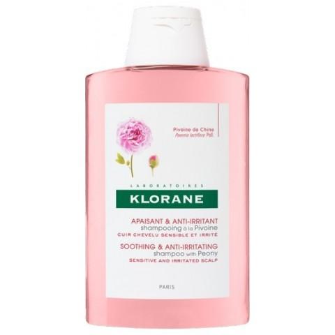Klorane champú calmante al extracto de peonia 400 ml