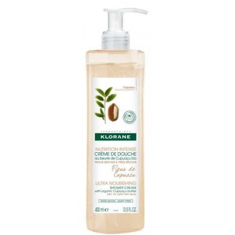 Klorane crema de ducha fleur d´ cupuaçu 400 ml