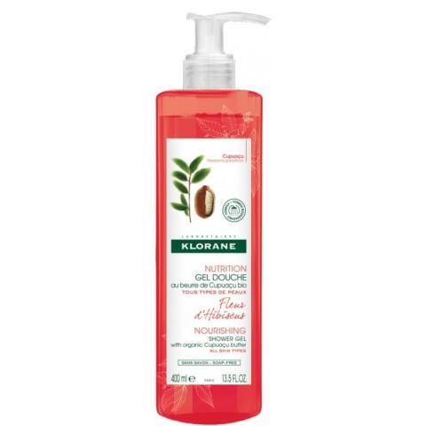 Klorane gel de duchas fleur d´hibiscus 400 ml