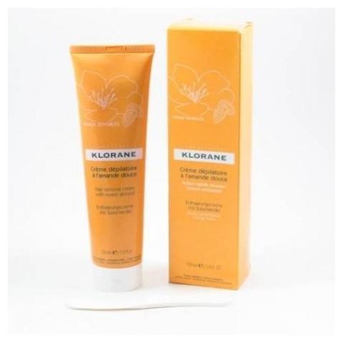 Klorane crema depilatoria acción rápida 150 ml