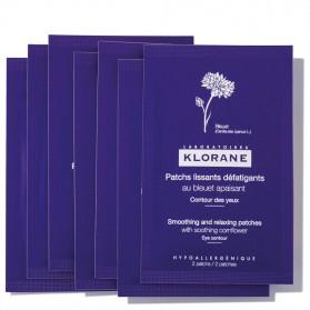 Klorane patchs alisantes y desfatigantes al acino 7 bolsas x 2 parches