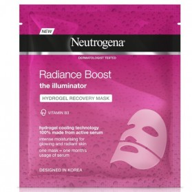 Neutrogena radiance boost hidrogel recovery mask iluminadora 30 ml