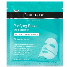 Neutrogena purifying boost hidrogel recovery mask purificante 30 ml