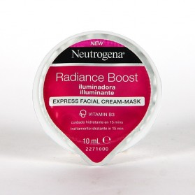 Neutrogena radiance boost express facial cream-mask 10 ml