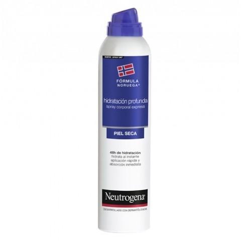 Neutrogena fórmula noruega hidratación corporal profunda spray 200 ml