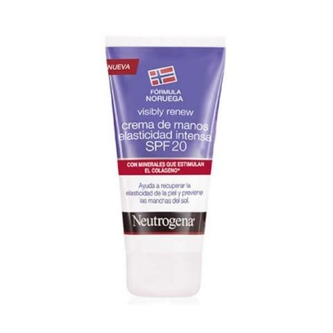 Neutrogena visibly elasticidad crema de manos SPF 20 75 ml