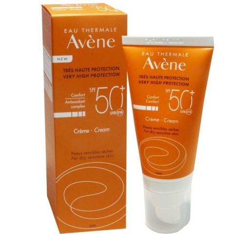 Avene SPF 50+ crema muy alta protección 50 ml