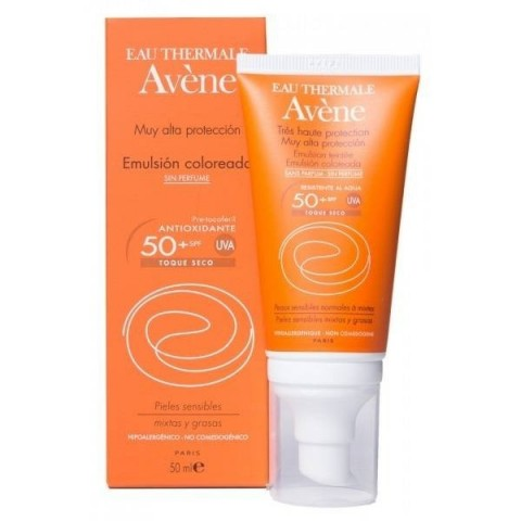 Avene  SPF 50 muy alta protección sin perfume 50 ml