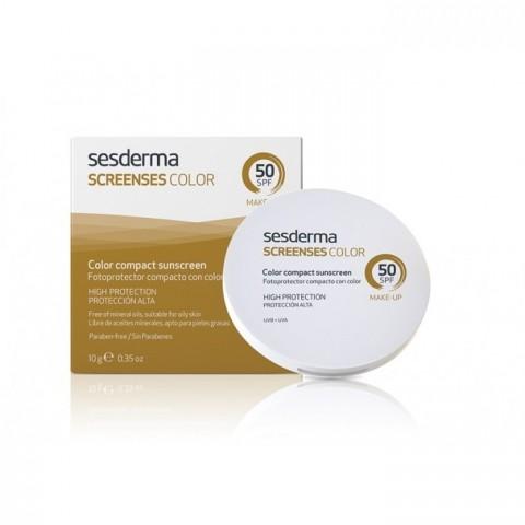 Sesderma screenses compacto SPF 50+ brown