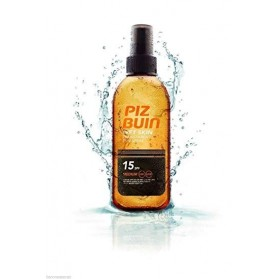 Piz Buin wet skin SPF 15 spray transparente 150ml