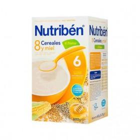 Nutriben 8 cereales con miel y 4 frutas 600 g