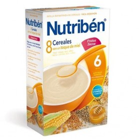 Nutriben 8 cereales con miel y frutos secos 600 g