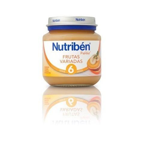 Nutriben frutas variadas  potito de inicio 130 g
