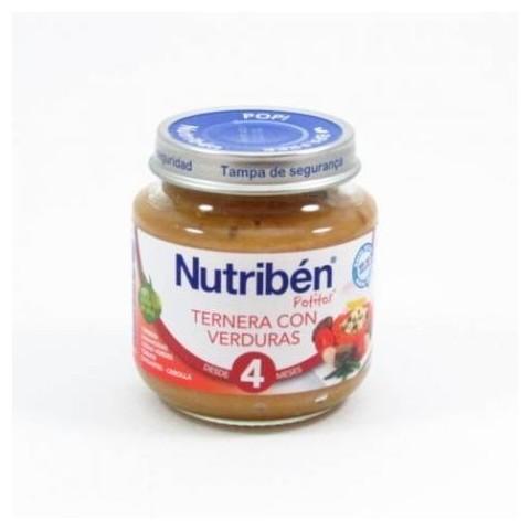 Nutriben ternera con verduras  potito de inicio 130 g