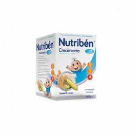 Nutriben crecimiento cereales con leche adaptada 600 g