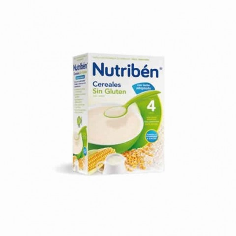Nutriben cereales sin gluten con leche adaptada 300 g