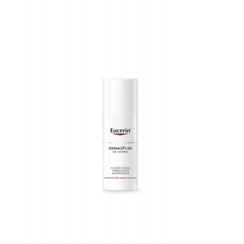fluido facial hidratante matificante Dermopure oil control 50 ml