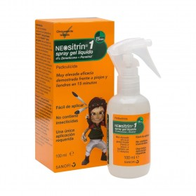 Neositrín spray gel antipiojos 100 ml