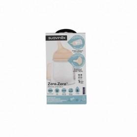Suavinex tetina de silicona anticólico para biberón zero.zero flujo S